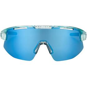 Bliz Matrix M12 Lunettes, transparent ice blue/smoke/ice blue multi